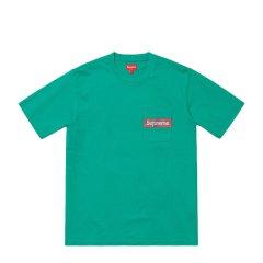 Supreme 19SS Mesh Stripe Pocket Tee BOX LOGO 短袖 T恤图片