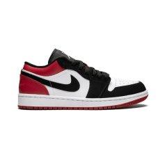 NIKE耐克 篮球鞋  2019春夏  Air Jordan 1 Low AJ1 低帮黑红脚趾篮球鞋 553558-116 553560-116图片