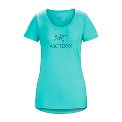 ARCTERYX/始祖鸟  Arc'word SS T-Shirt W 女款棉质短袖T恤 17453【2017春夏新款】图片
