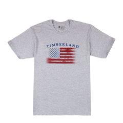 【包税】Timberland/添柏岚  户外男士纯棉透气 时尚休闲印花圆领短袖T恤 TT059图片