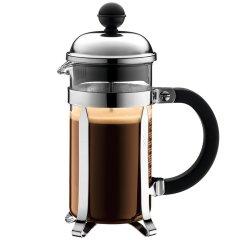 bodum波顿法压壶香波系列丹麦进口玻璃 不锈钢耐热虑压茶壶小容量350ml图片