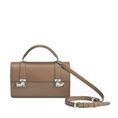 【包邮包税】Moynat/Moynat 经典款CABOTIN女士小牛皮桶型单肩手提包 (4色可选)图片