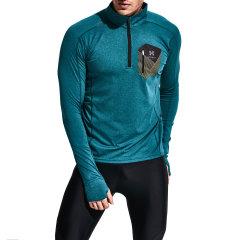 HOTSUIT/HOTSUIT 速干运动长T恤男弹力快干跑步训练透气健身夜光轻盈 56092000图片