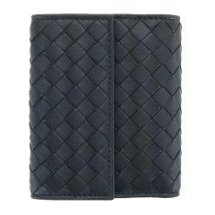 【包税】Bottega Veneta/葆蝶家   女士羊皮编织短款按扣钱包图片