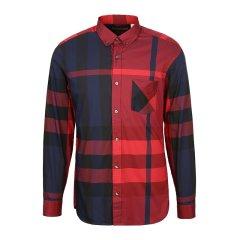 BURBERRY/博柏利  男士 红色棉/锦纶/氨纶男士长袖衬衫 4045831图片