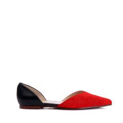BENATIVE/本那狐狸系列《三生三世十里桃花》春夏平跟鞋 中空女士凉鞋BN01725918图片