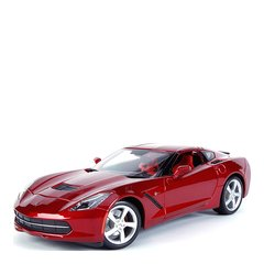 雪佛兰克尔维特1:18超跑车仿真合金汽车模型收藏摆件可定制车牌图片