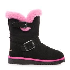 COZY STEPS/COZY STEPS真皮羊毛内里雪地靴女士靴子    图片