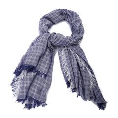 Emporio Armani/安普里奥阿玛尼围巾-女士深蓝色围巾图片