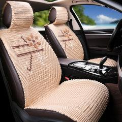 NATU 汽车新款夏季冰丝座垫 汽车冰丝凉垫  汽车座垫鸟语花香图片
