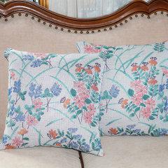 ekelund爱蔻莱瑞典设计美式田园纯棉提花腰枕靠垫抱枕含枕芯图片