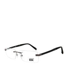 MontBlanc/万宝龙经典六芒星标识钢笔镜腿总裁款男士光学眼镜图片