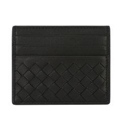 Bottega Veneta/葆蝶家 经典编织牛皮革多卡位卡包 中性款式卡包 162150V001N图片