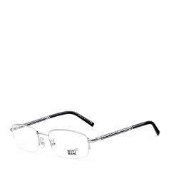 MontBlanc/万宝龙尊贵奢华半框系列绚丽渲染精致精钢镜腿总裁款男士光学眼镜图片
