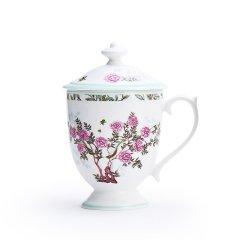 Miracle Dynasty/玛戈隆特 骨瓷 冠军盖杯 中国花园 礼品礼盒包装图片