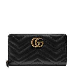 GUCCI/古驰 20年春夏 GG LOGO logo 女包  手包 女性 gucci  GG Marmont系列 条纹 红色 手拿包 443123.DTD1T 6433图片