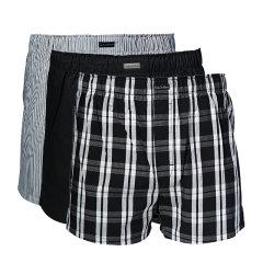 Calvin Klein/卡尔文·克莱因  男士内裤纯棉四角宽松内裤三条装 U1732图片