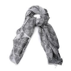 Emporio Armani/安普里奥阿玛尼围巾-女士黑色围巾图片