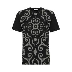 VERSACE COLLECTION/VERSACE COLLECTION 时尚休闲男士经典款黑色短袖T恤B1701M2085VC12男士短袖T恤图片