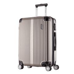 ROCKLAND/洛克兰 CF236系列 黑色红色蓝色银色玫瑰金深灰双色 中性款式竖条纹行李箱拉杆箱 万向轮 海关锁 其他ABS 24寸图片
