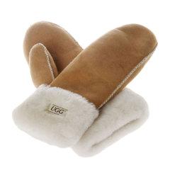 Ozwear ugg/Ozwear ugg 连指羊皮羊毛手套 CS-006图片