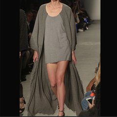 Zynni Cashmere 高精纯羊绒针织连身短裙SJ9017图片