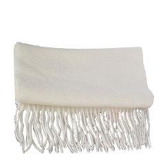 【包邮免税】Ozwear UGG时尚保暖美丽诺羊毛围巾 米白色图片