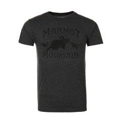 marmot/土拨鼠18春夏新款户外透气短袖速干棉质圆领男T恤S43480图片