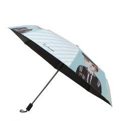 MISS RAIN/MISS RAIN MISSRAIN X OHCAT潮猫伞黑胶防晒晴雨两用卡通图案遮阳伞防紫外线图片