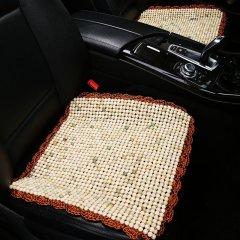 pinganzhe 汽车夏季菩提子木珠汽车坐垫 三件套无靠背座垫凉垫 汽车夏季凉垫图片