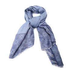 Emporio Armani/安普里奥阿玛尼围巾-女士蓝灰围巾图片