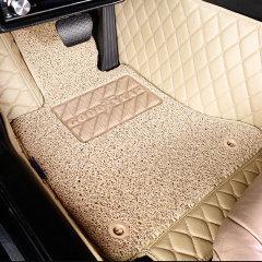 固特异(Goodyear)丝圈皮革大包围双层可拆卸汽车脚垫 飞逸系列 专车定制 三色可选图片