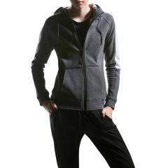 美国HOTSUIT 女外套新款女子舒适开衫连帽运动休闲外套图片