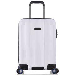 ROCKLAND/洛克兰 TimeBox系列 香槟色墨蓝色莹白色 中性款式水帘型行李箱拉杆箱登机箱 万向轮 海关锁 PC/ABS合金料 20寸图片