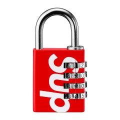 Supreme 19SS Master Lock Numeric 联名 开季 密码锁数字锁图片
