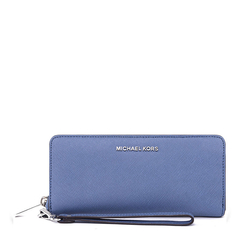 MichaelKors/迈克·科尔斯MK女士Saffiano皮革长款钱包钱夹32H2SBFE1L图片