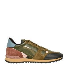Valentino/华伦天奴女士迷彩铆钉休闲运动鞋 NW1S0291图片