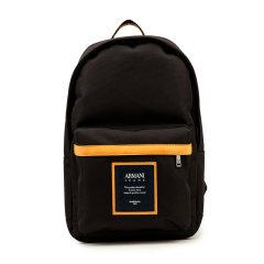 AJ ARMANI JEANS/阿玛尼牛仔聚酯纤维材质字母贴布立体袋设计男士双肩包图片