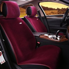 pinganzhe 2018年汽车新款秋冬季羊毛座垫 汽车短毛款羊皮毛座垫图片
