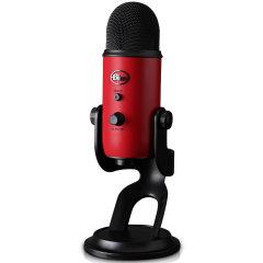 Blue yeti 雪怪USB专业电容麦克风 电脑手机游戏直播 主播唱歌喊麦话筒 全民K歌唱吧会议录音图片