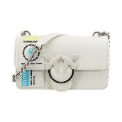 包邮包税Pinko品高女包单肩小号圆标燕子包1P21CFY5FJ图片