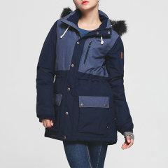 PROTEST/博特斯2016冬季新款女中长款拼色雪服图片