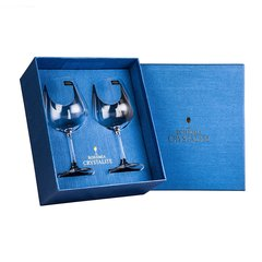 BOHEMIA Crystal 捷克进口水晶玻璃葡萄酒香槟杯勃艮第高脚红酒杯礼盒2只图片