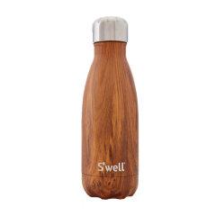 SWELL 美国时尚保温杯木纹系列不锈钢水杯图片