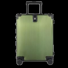 LIEMOCH/利马赫 21春夏款 20寸登机箱其它材质金属不锈钢旅行箱 拉杆箱男女士行李箱万向轮适用人群:青年 其他材质中性款式图片