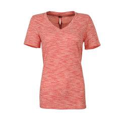 marmot/土拨鼠2018新款户外女式速干吸湿排汗V领透气T恤S48420   CoolExchange科技图片