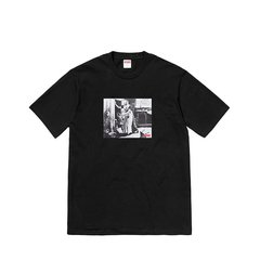 Supreme/Supreme FW18 MIKE KELLEY联名款合作款 HIDING FROM INDIANS TEE 短袖 T恤图片