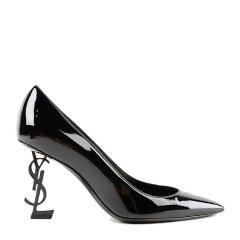 SAINT LAURENT PARIS/SAINT LAURENT PARIS 18年秋冬 ysl  女性 ysl 尖头鞋 亮面皮 高跟鞋 4841600NPVV1000图片