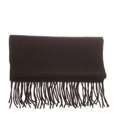 【包邮免税】Ozwear UGG时尚保暖美丽诺羊毛围巾 纯黑色图片