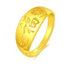 China Gold/中国黄金 可调节足金指环图片